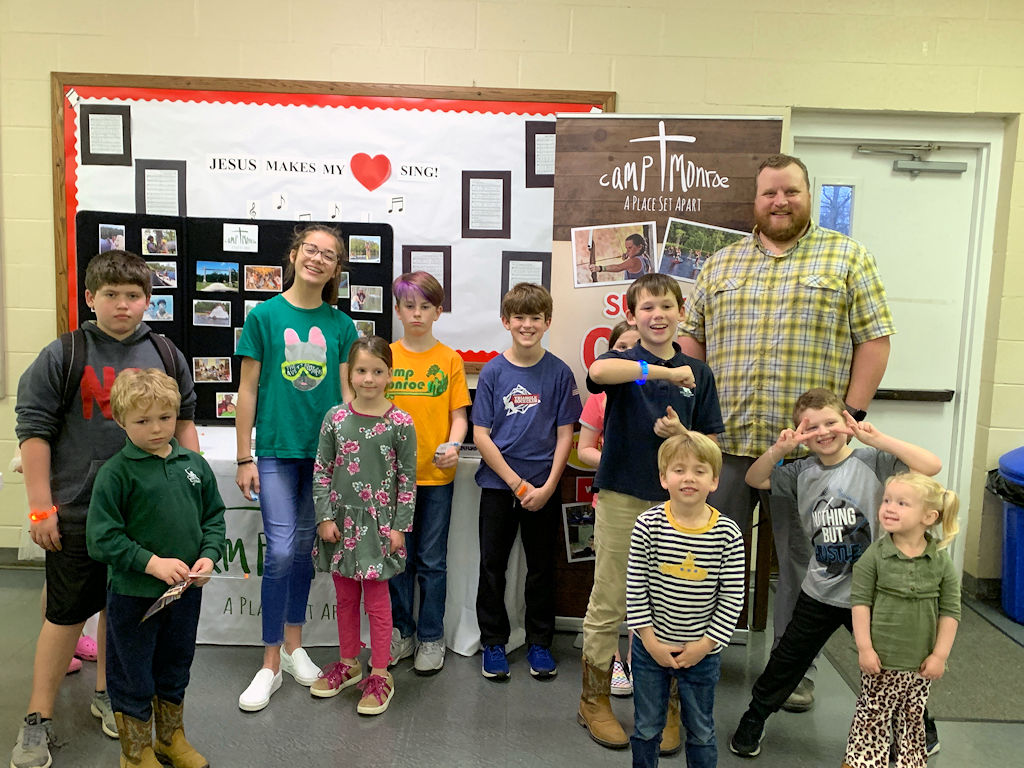 Andrew Plyler from Camp Monroe visit JPC